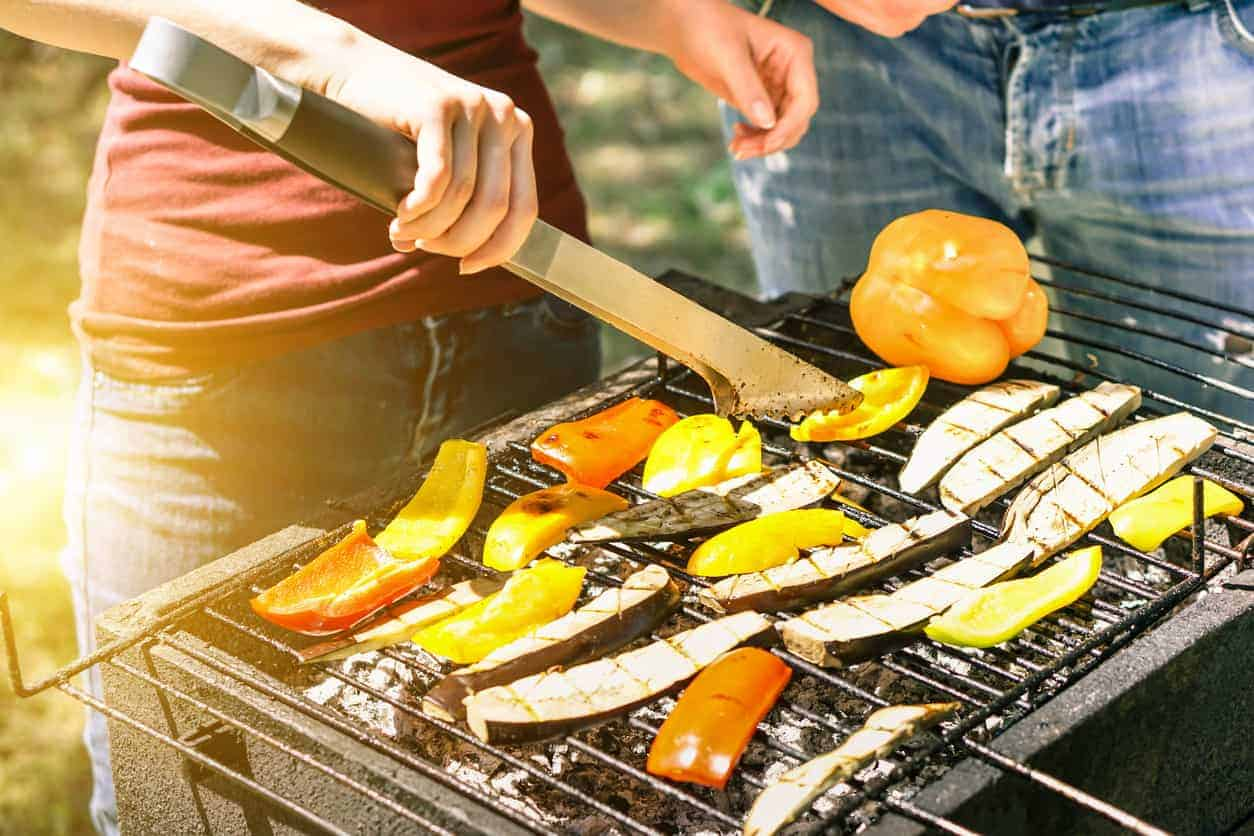 Grilling veggies in the warming seasons